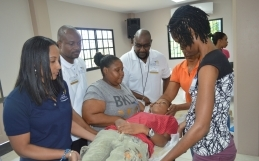 Blanchisseuse Residents CPR Training